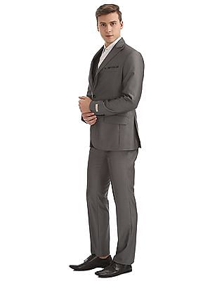 Arvind Patterned Three Piece Suit