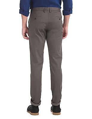 Arrow Sports Chrysler Slim Fit Printed Trousers