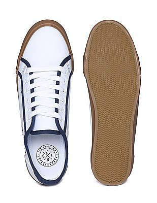 Aeropostale Contrast Panel Canvas Sneakers