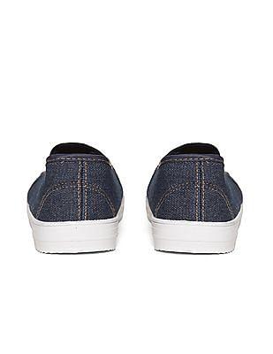 SUGR Washed Denim Slip-On Shoes