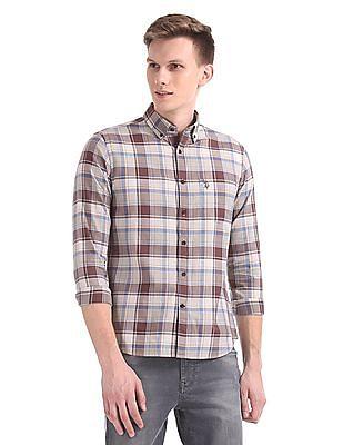 U.S. Polo Assn. Tailored Regular Fit Check Shirt