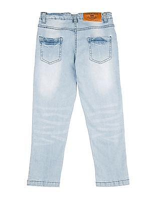 Cherokee Girls Distressed Slim Fit Jeans