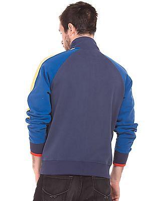 U.S. Polo Assn. Raglan Sleeve Zip Up Sweatshirt