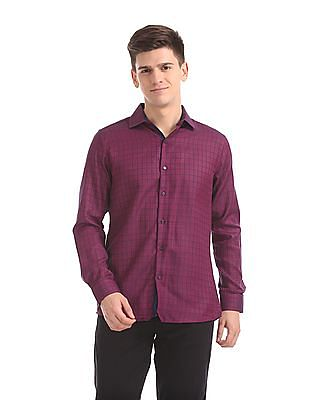 Excalibur Regular Fit Woven Check Shirt