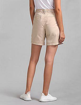 GAP Mid Rise Girlfriend Chino Shorts