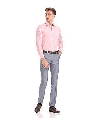Arrow Slim Fit Check Shirt