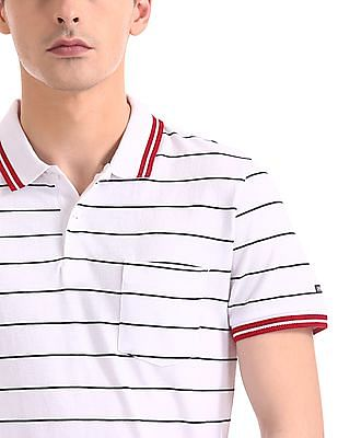 Arrow Sports Regular Fit Short Sleeve Polo Shirt