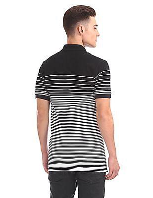 Aeropostale Regular Fit Striped Polo Shirt