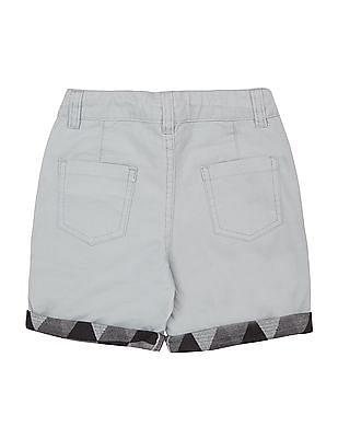 Cherokee Boys Drawstring Waist Cotton Shorts