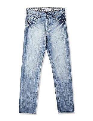 Flying Machine Prince Slim Fit Faded Jeans