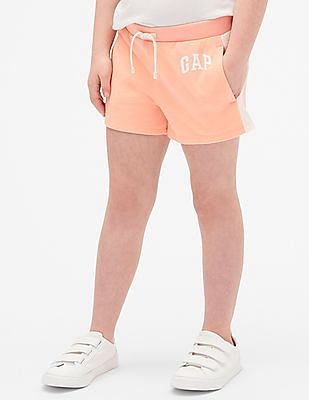 GAP Girls Logo Shorts In French Terry