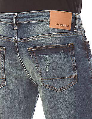 Aeropostale Ripped Skinny Jeans