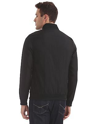 Arrow Newyork Zip Up Solid Bomber Jacket