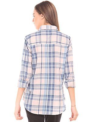 Aeropostale Regular Fit Check Shirt