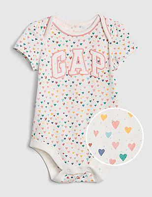 GAP Baby Logo Short Sleeve Bodysuit