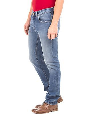 U.S. Polo Assn. Denim Co. Washed Slim Straight Fit Jeans