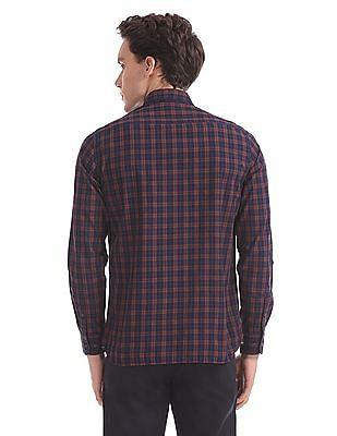 Arrow Sports Slim Fit Long Sleeve Shirt