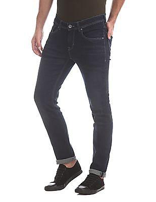 Colt Blue Skinny Fit Dark Wash Jeans
