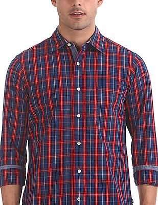Nautica Long Sleeve Check Shirt