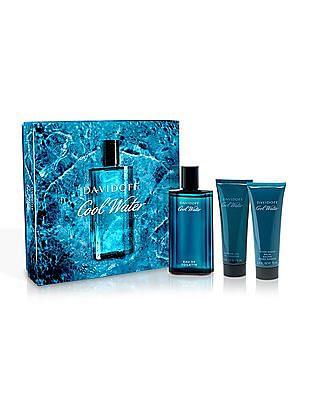 DAVIDOFF Cool Water Eau De Toilette + Shower Gel + After Shave