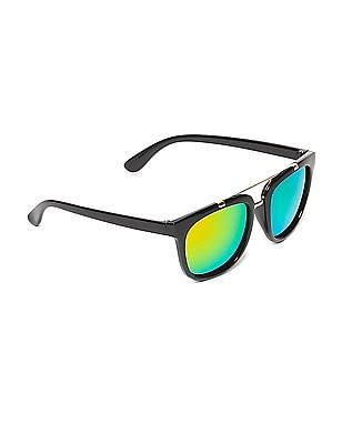 Unlimited Boys Square Frame Polarized Sunglasses