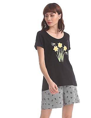 SUGR Assorted T-Shirt And Shorts Set
