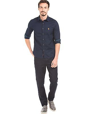 U.S. Polo Assn. Denim Co. Crumpled Mid Rise Jeans