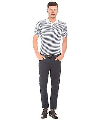 Nautica Striped Regular Fit Polo Shirt