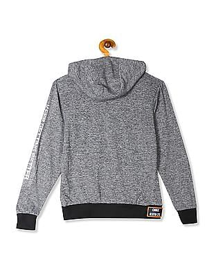 Cherokee Grey Boys Hooded Active Sweatshirt
