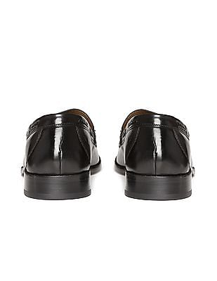 Johnston & Murphy Tassel Trim Leather Loafers