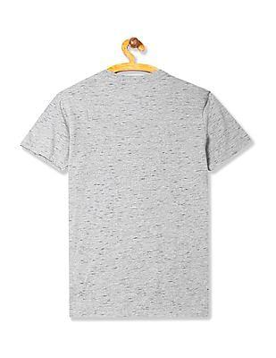 U.S. Polo Assn. Kids Boys Short Sleeve Heathered T-Shirt