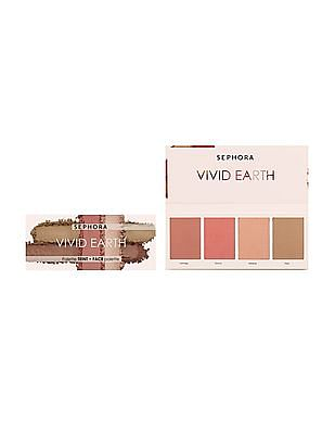 Sephora Collection Vivid Earth Face Palette - Pink Minerals
