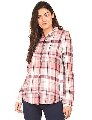 Aeropostale Plaid Twill Shirt