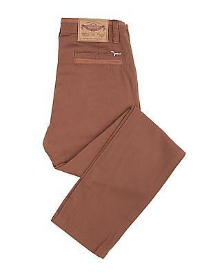 FM Boys Boys Slim Fit Twill Trousers