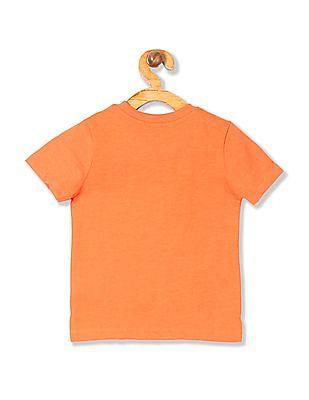 Cherokee Boys Printed Applique T-Shirt