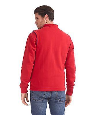 Izod Reversible Sleeveless Sweatshirt