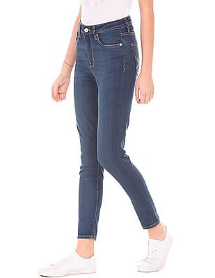 Aeropostale Slim Fit Dark Washed Jeans