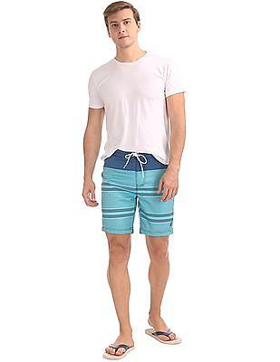 Nautica Engineer Stripe Trunk Shorts