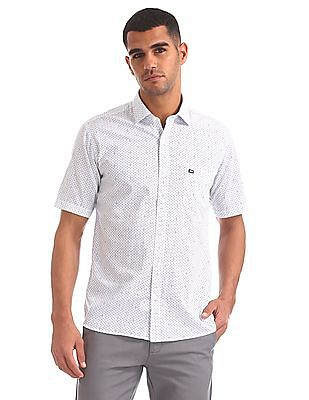Arrow Sports Regular Fit Printed Shirt