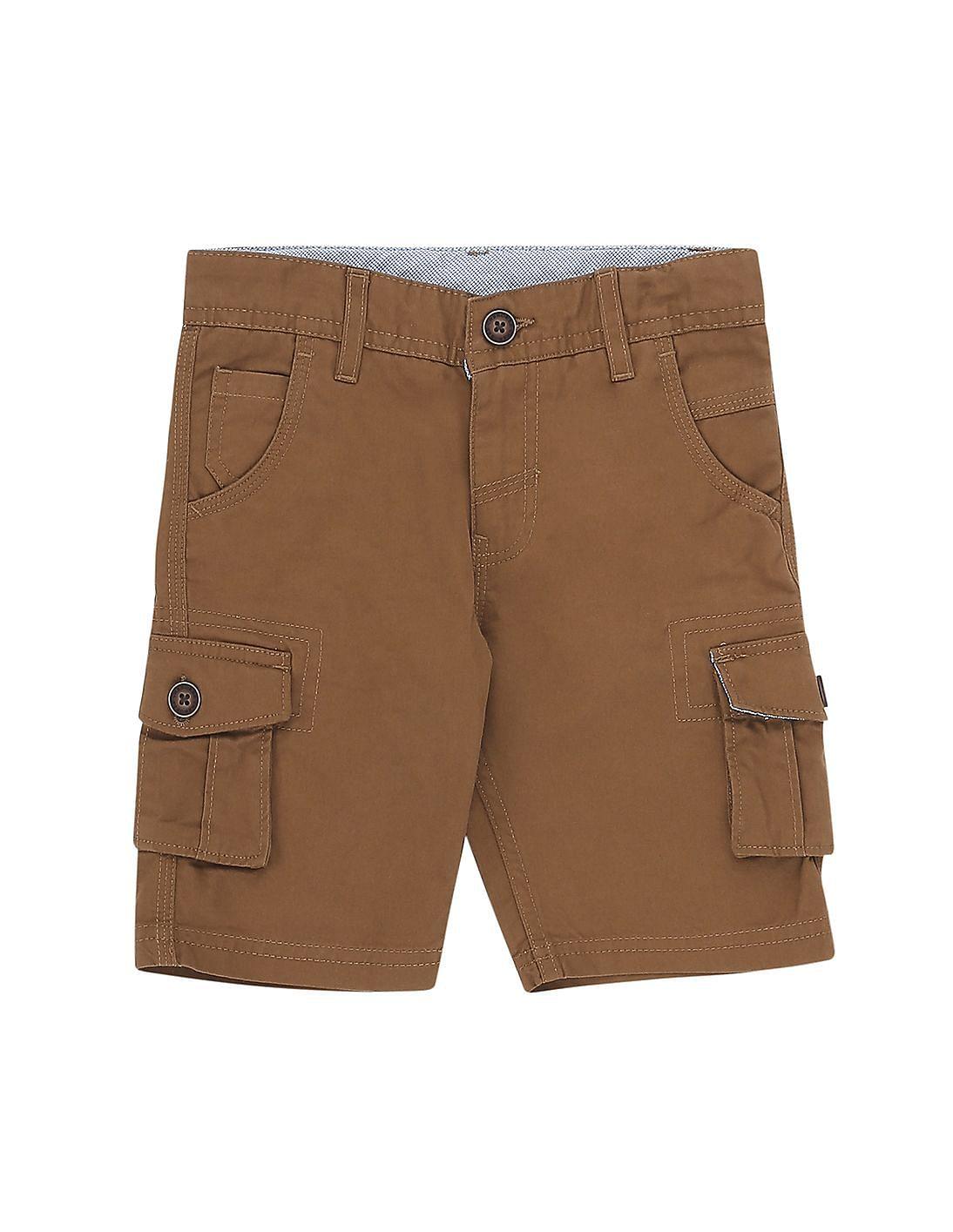 89151b9eb Buy Boys Boys Cotton Cargo Shorts online at NNNOW.com