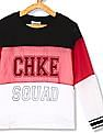 Cherokee Girls Colour Block Layered T-Shirt