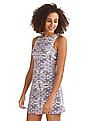 Aeropostale Printed Skater Dress