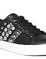 GUESS Round Toe Embellished Sneakers