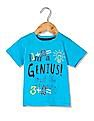 Donuts Boys Printed Front Cotton T-Shirt