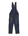 Cherokee Boys Washed Denim Dungarees