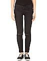 Flying Machine Women Distressed Skinny Fit Jeans
