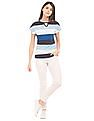 U.S. Polo Assn. Women Striped Knit Top