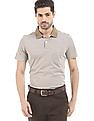 Arrow Regular Fit Heathered Polo Shirt