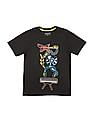 Cherokee Boys Printed Front Round Neck T-Shirt