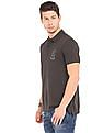 Ed Hardy Solid Regular Fit Polo Shirt